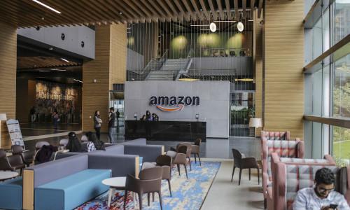 An Amazon workspace.